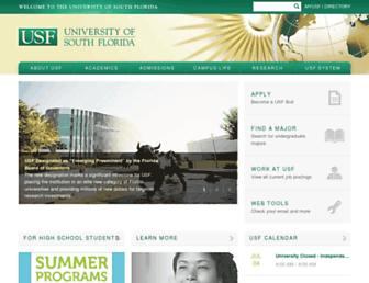 Thumbshot of Usf.edu
