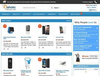 Thumbshot of Saholic.com