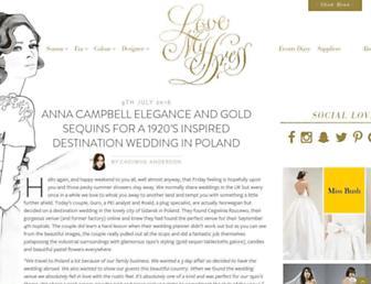 lovemydress.net screenshot