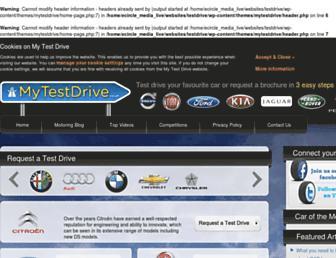 Thumbshot of Mytestdrive.co.uk