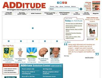Thumbshot of Additudemag.com
