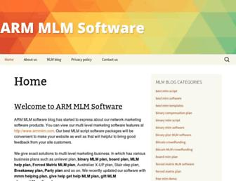 armmlmsoftware.com screenshot