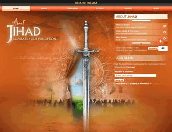 aboutjihad.com screenshot