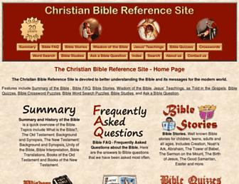christianbiblereference.org screenshot