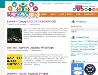 Thumbshot of Familyreviewguide.com