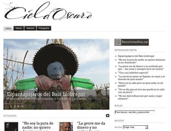 cielooscuro.com screenshot