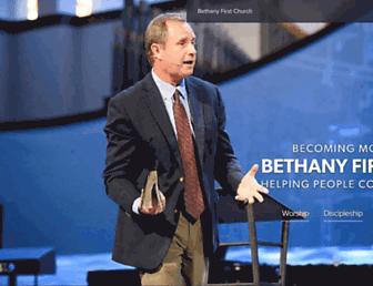 bethanynaz.org screenshot