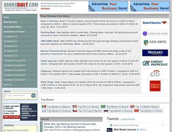 banksdaily.com screenshot