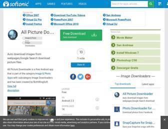 all-picture-downloader.en.softonic.com screenshot