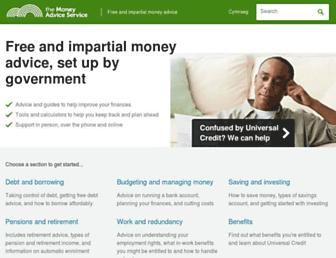 moneyadviceservice.org.uk screenshot