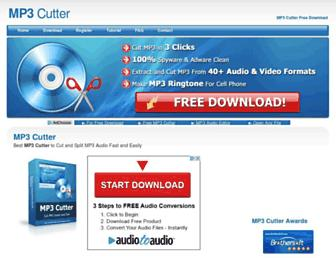 mp3cutter.org screenshot