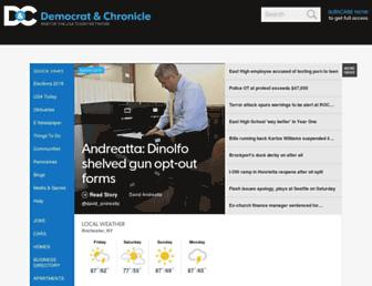 democratandchronicle.com screenshot
