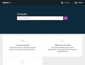 amazon.jobs screenshot