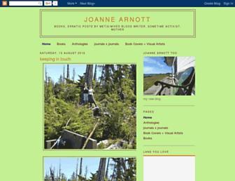 joannearnott.blogspot.com screenshot
