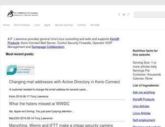 aplawrence.com screenshot