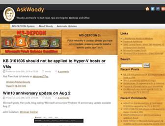 askwoody.com screenshot
