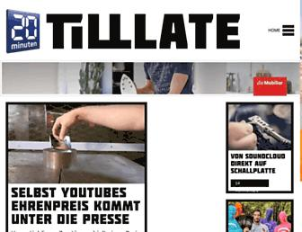 tilllate.com screenshot