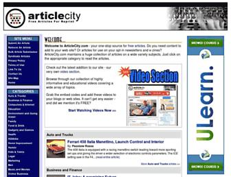 Thumbshot of Articlecity.com