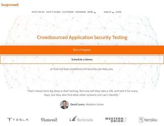 bugcrowd.com screenshot
