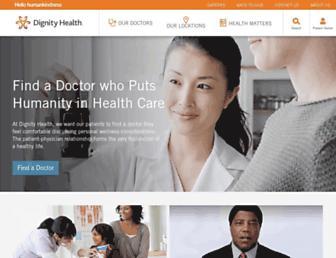 dignityhealth.org screenshot