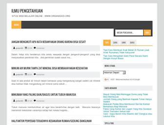organisasi.org screenshot