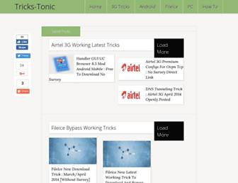 tricks-tonic.blogspot.com screenshot
