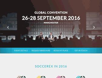 soccerex.com screenshot