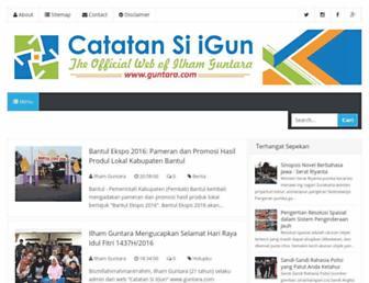 guntara.com screenshot