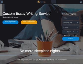 essaypro.com screenshot
