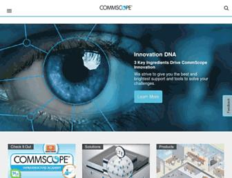 commscope.com screenshot