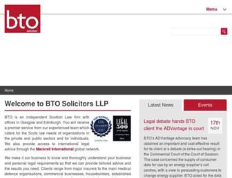 bto.co.uk screenshot