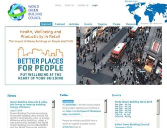 Thumbshot of Worldgbc.org