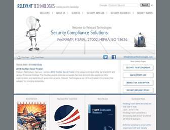 relevanttechnologies.com screenshot