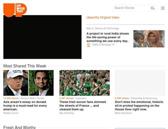 Thumbshot of Upworthy.com