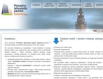 Main page screenshot of ptp.rs