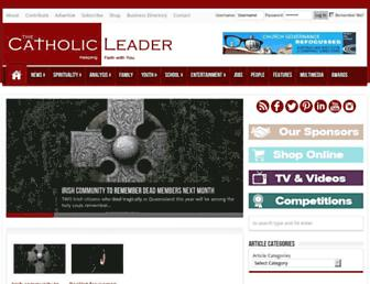 catholicleader.com.au screenshot
