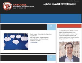 Thumbshot of En-bourse.fr
