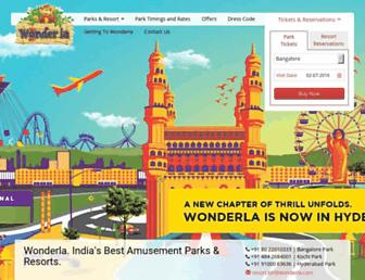 Thumbshot of Wonderla.com