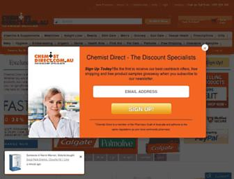 Thumbshot of Chemistdirect.com.au