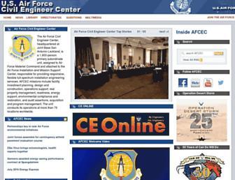 afcec.af.mil screenshot
