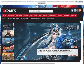 prosiebengames.de screenshot