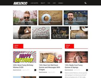 awesoroo.com screenshot