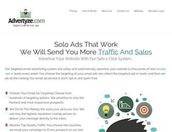 Thumbshot of Advertyze.com