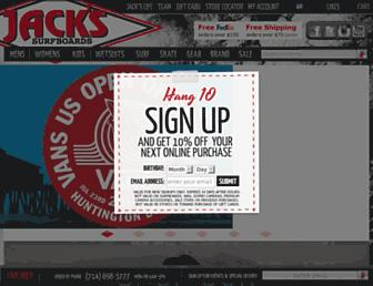 Thumbshot of Jackssurfboards.com