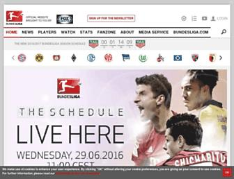 Thumbshot of Bundesliga.com