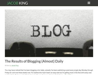 Thumbshot of Jacobking.com