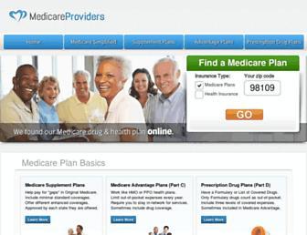 medicare-providers.net screenshot