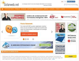 Thumbshot of Solarweb.net