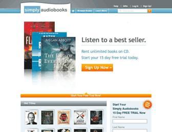 Thumbshot of Simplyaudiobooks.com