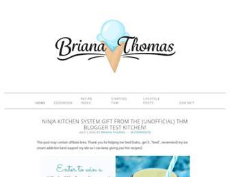Thumbshot of Briana-thomas.com